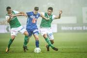 Der 21-jährige Stürmer erzielte in der laufenden Saison für den FC Luzern und den FC Basel zwei Tore. (Bild: Ralph Ribi)