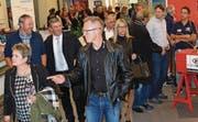 Gegen 40 Aussteller aus St. Margrethen präsentieren dieses Wochenende in der Rheinauhalle ihre Produkte und Dienstleistungen. (Bilder: Kurt Latzer)