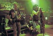 Die Hardrockband Firemoon spielt die harten und lauten Töne. (Bild: Steiner Rudolf)