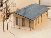Die Pfadi Peter und Paul kann wohl schon bald mit dem Bau des Pfadiheims nach diesem Modell beginnen. (Bild: pd)