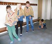 Die Kostüme haben die Montlinger Kinder schon organisiert. Jetzt ist Proben angesagt. (Bild: Anina Gächter)