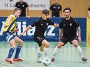 Zur Vorbereitung gehören auch Hallenfussballturniere wie am vergangenen Sonntag in St. Gallen. (Bild: Urs Bucher)