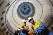 Hochofen des Tata-Stahlwerks im walisischen Port Talbot. (Bild: Tata Steel Europe)