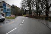 Laut der Autolenkerin lief das Kind unvermittelt auf die Strasse. (Bild: Stapo SG)
