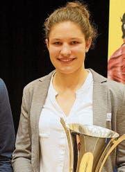 Sportschülerin des Jahres: Ronja Blöchlinger. (Bilder: Lukas Pfiffner)