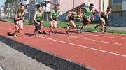 Die Läuferinnen und Läufer erwarten mit der neuen Laufbahn optimale Wettkampfbedingungen. (Bild: PD)