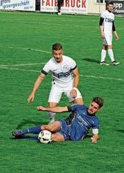 Für den FC Sirnach (blau) geht es gegen St. Margrethen um sehr viel. (Bild: Urs Nobel)