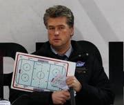 Roger Bader ist nicht mehr Trainer des EHC Uzwil. (Bild: Keystone)
