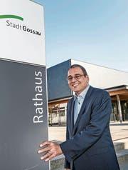 Der Churer Wolfang Giella will ins Gossauer Rathaus. (Bild: Ralph Ribi)