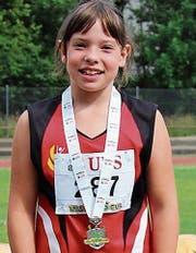 Lorena Raunjak wird am Kantonalfinal Zweite. (Bild: pd)