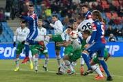 Der FCSG verliert gegen Basel. (Bild: GEORGIOS KEFALAS (KEYSTONE))