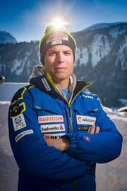 Einst beim Skiclub Gossau: Skirennfahrer Ralph Weber. (Bild: Benjamin Manser)