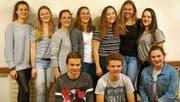 Zehn der elf Neumitglieder der Aktiv- und Damenriege des STV Balgach waren an der Hauptversammlung. (Bild: pd)