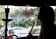 In Rorschach ist eine 17-Jährige nach dem Besuch einer Shisha-Bar zusammengebrochen. (Bild: Keystone (Symbolbild))