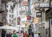 Ist die Stadt für kleine Geschäfte unattraktiv? (Bild: Urs Bucher)