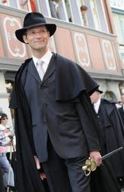 Will kein Sprengkandidat für den Ständerat sein: Landammann Daniel Fässler. (Bild: Keystone)