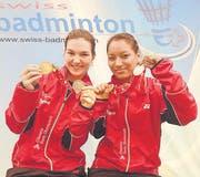 Cendrine Hantz (links) und Tenzin Pelling gewinnen je eine Silber- und Bronzemedaille. (Bild: Matthias Zindel)