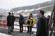Gleich mehrere Politiker folgten der Einladung des Regionalen Feuerwehrverbands. (Bild: Sabine Schmid)