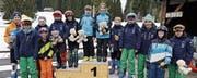 Kategoriensiegerinnen und -sieger mit ihren gewonnenen Plüschbären. (Bild: PD)