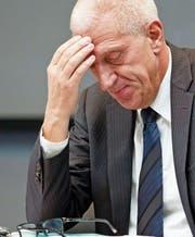 Pierin Vincenz, bis 2015 an der Spitze von Raiffeisen. (Bild: Alessandro Della Bella/Keystone (Zürich, 2. März 2012))