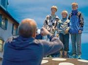 Strassenfest in Gossau. Einweihung des neuen Gossauer Stadtkerns. (Bild: Coralie Wenger (Coralie Wenger))