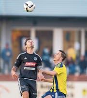 Der FC Herisau (hier im Spiel gegen Steinach) unterlag dem FC Arbon. (Bild: APZ)