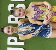 Tina und Lea Schefer (v. l.) zeigten, dass sie auch international an der Spitze mithalten können. (Bild: pd)