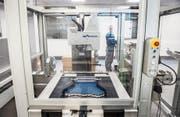 Blick in die Produktionsstätte der Vifor Pharma für eisenbasierte Wirkstoffe in St. Gallen. (Bild: Urs Bucher (St. Gallen, 28. Oktober 2016))