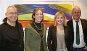 Es kandidieren (v. l.): Thomas Brunner, Sonja Lüthi, Jacqueline Gasser und Martin Wicki. Es fehlt: Nadine Cloé Niederhauser. (Bild: pd)