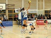 Durch die Niederlage in Münchenbuchsee ist Volley Toggenburg in der Tabelle auf Rang 5 abgerutscht. (Bild: Reinhard Kolb)