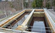 Im Faulwasserstapelbecken wird eine Rücklaufbehandlung vorgenommen. Wegen zu kleiner Kapazität soll es vergrössert werden. (Bilder: Beat Lanzendorfer)