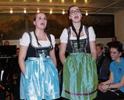 «Heiterefahne», dargeboten von Martina Scherrer (rechts) und Angelika Lusti.
