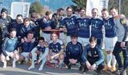 Alter und neuer Sieger beim Alpha-Winter-Cup: der FC Widnau. (Bild: Ulrike Huber)