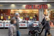 43 Ex-Libris-Filialen werden dieses Jahr ihre Pforten schliessen. (Bild: Boris Bürgisser (Luzern, 10. Januar 2018))