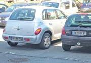 Nur kurz mal mit dem Auto des deutschen Arbeitskollegen oder dem der Vorarlberger Kollegin fahren? Das Risiko ist gering, aber es ist verboten. (Bild: René Schneider)