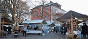 Vorweihnachtliche Stimmung auf dem Platz des Ortsmuseums Lindengut in Flawil. (Bilder: Zita Meienhofer)
