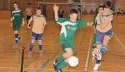 Robin Sturzenegger (r.) vom FC Montlingen überzeugte in Koblach. (Bilder: mäx)