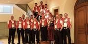 Die Lieder der Messe führen hin zum Abendmahl und Segen. Der Jodlerklub Ebnat-Kappel führt «Du, Gott, bisch min Hirt» am Bettag auf. (Bild: PD)