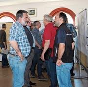 Die dritte Beiratsveranstaltung förderte in Wattwil kürzlich den Meinungsaustausch rund um das Projekt der Thursanierung. (Bild: Patricia Wichser)
