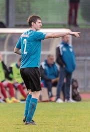 Robin Jung spielt als linker Aussenverteidiger für den FC Rorschach-Goldach. (Bild: Hanspeter Schiess)