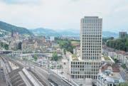 Das Areal zwischen der Fachhochschule St. Gallen und dem «Leopard» hat sich in den vergangenen Jahren stark verändert. (Bild: Michel Canonica)