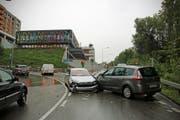 Verletzt wurde bei der Kollision niemand. (Bild: Stapo SG)