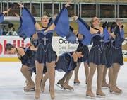 Mit einer eleganten Choreographie erreichten «Passion» aus Illnau-Effretikon den vierten Rang.