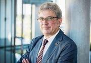 Geht in Pension: Fredi Widmer lässt das Wittenbacher Gemeindepräsidium nach sieben Jahren hinter sich. (Bild: Urs Jaudas)