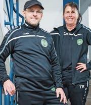 Silvia und Ueli Heeb trainieren seit Anfang Jahr die Frauen von St. Gallen-Staad. (Bild: Urs Bucher)