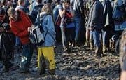 Der Dauerregen löste den Boden auf der Jonschwiler Degenau richtiggehend auf. Hätte dieses Chaos verhindert werden können? (Bilder: Reto Martin)