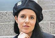 Nina Prantner ist Dirigentin des Männerchors Au Berneck.