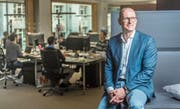 Seit Sommer 2017 führt Bernd Schopp die Geschäfte der Namics AG. Im Unternehmen arbeitet er seit 2002. (Bild: Michel Canonica)