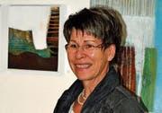 Nach der Batikmalerei suchte Trudi Tobler eine neue Herausforderung – und fand diese in der Acrylmalerei. (Bild: pd)