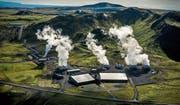 Das isländische Geothermiekraftwerk Hellisheidi: Hier wird CO2 aus der Luft in Stein verwandelt. (Bild: Arni Saeberg)